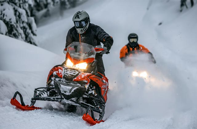Lynx Snowmobile Family
