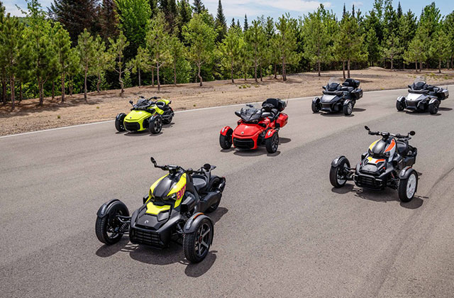 Can-Am Spyder line-up