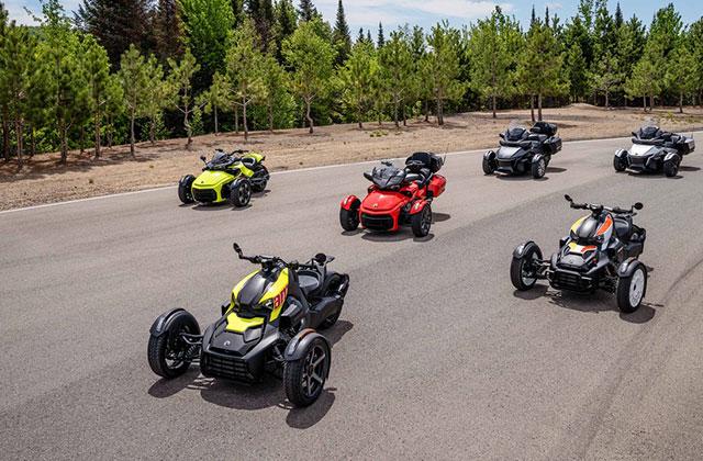 Can-Am Spyder line-up