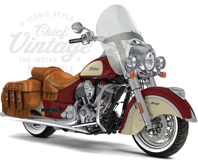 Indian Motorcycle Bagger: Chief Vintage, Chieftain, Chieftain Dark Horse, Springfield