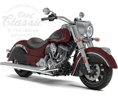 Indian Motorcycle Cruiser: Chief Classic, Chief Dark Horse