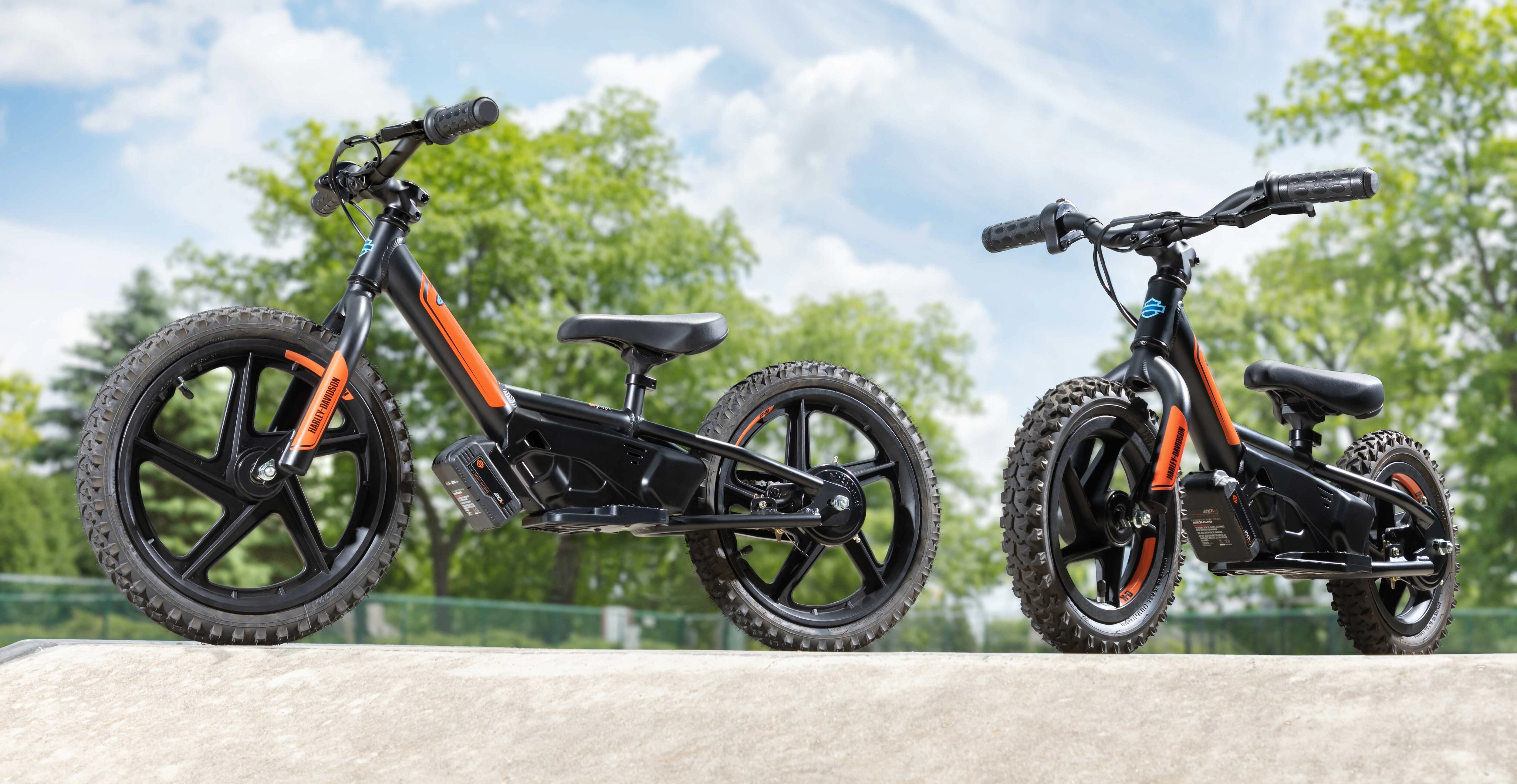 Harley-Davdison IRONe12™ & IRONe16™ Electric Balance Bikes hero image